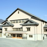 蛭川公民館(中津川市有形民俗文化財・蛭子座)