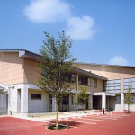 千曲市立埴生中学校 体育館